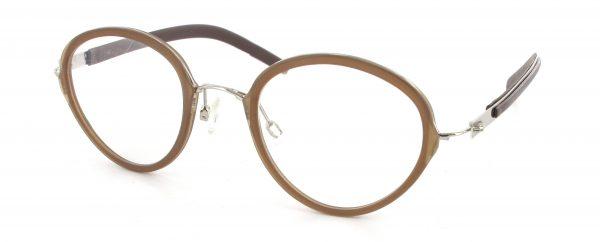 Leesbril Metzler 5050 A bruin/zilver