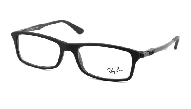 Leesbril Ray-Ban RB7017-5196-54 mat zwart