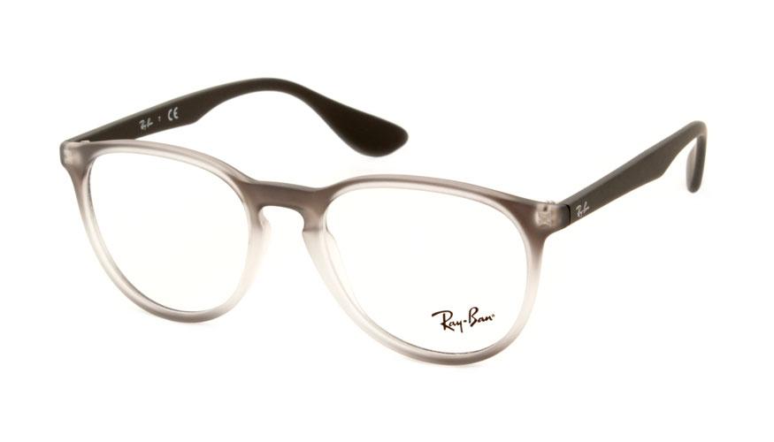Leesbril Ray-Ban RX7046 5602 51 mat transparant grijs rubber
