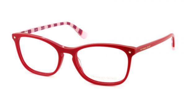 Leesbril Victoria's Secret VS5007/V 066 rood roze/rood streep