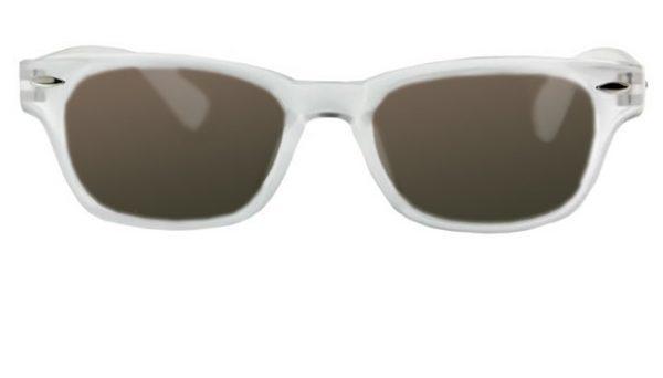 Leeszonnebril INY Woody Sun G14400 transparant