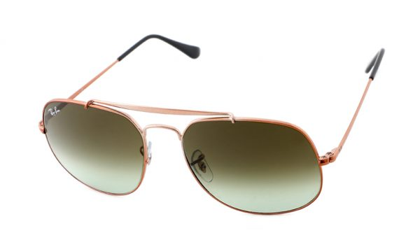 Leeszonnebril Ray-Ban The General RB3561 9002 A6 57