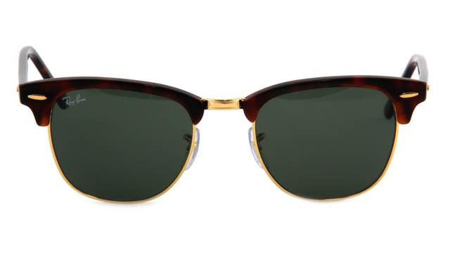 Zonneleesbril Ray-Ban Clubmaster RB3016-W0366-51 havanna/goud