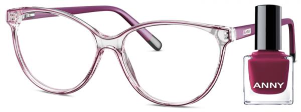 Leesbril Anny eyewear stiletto lady paars + gratis nagellak 963003-505