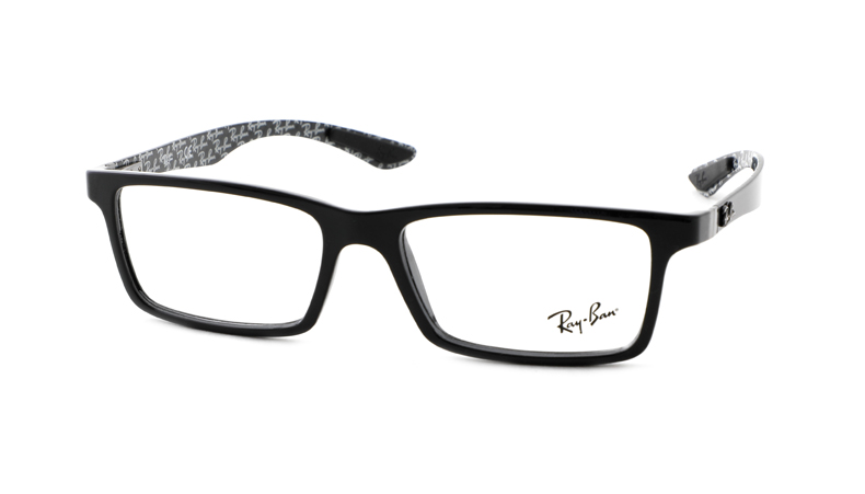 Leesbril Ray-Ban 0RX-8901 5610 55 top black on shiney grey