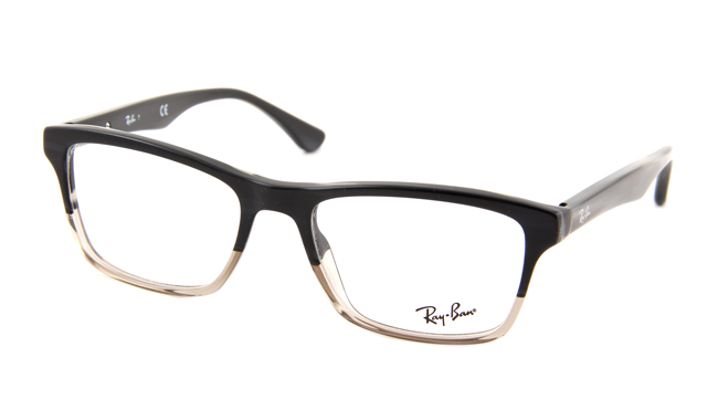 Leesbril Ray-Ban RB5279-5540-55 zwart/transparant