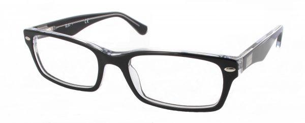 Leesbril Ray-Ban RX5206-2034-52 zwart/transparant