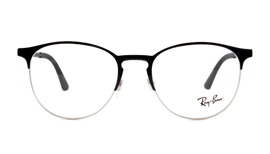 Leesbril Ray-Ban RX6375 2861 51 zwart/zilver