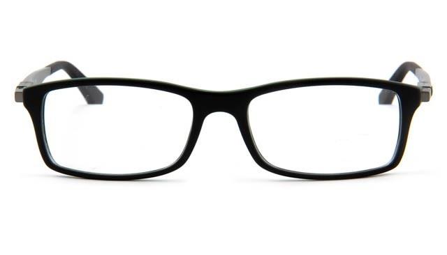 Leesbril Ray-Ban RX7017-5197-54 mat zwart/groen