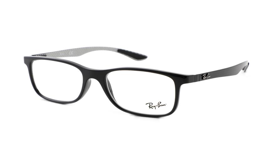 Leesbril Ray-Ban RX8903 5681 55 zwart zilver