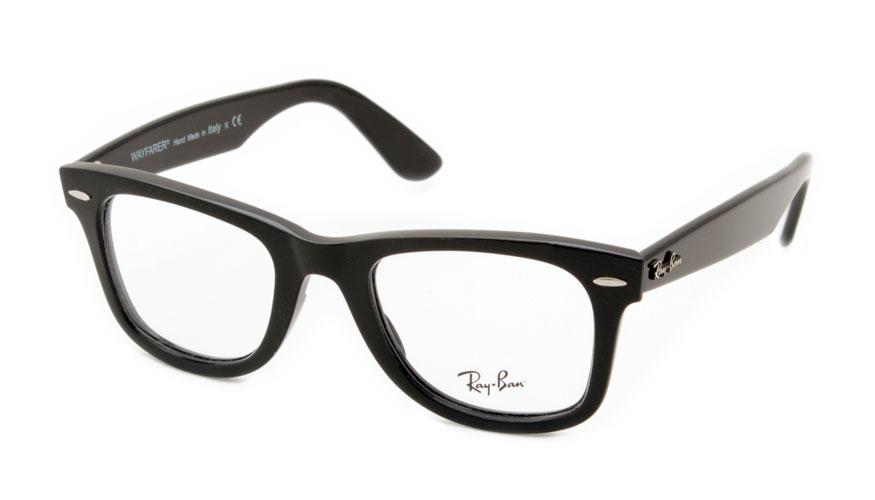 Leesbril Ray-Ban Wayfarer RX4340v-2000-50 zwart