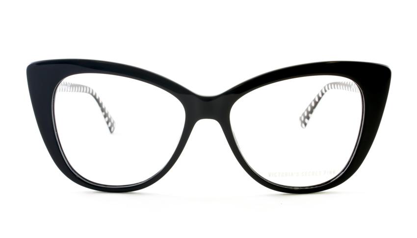 Leesbril Victoria's Secret Pink PK5005/V 001 zwart wit
