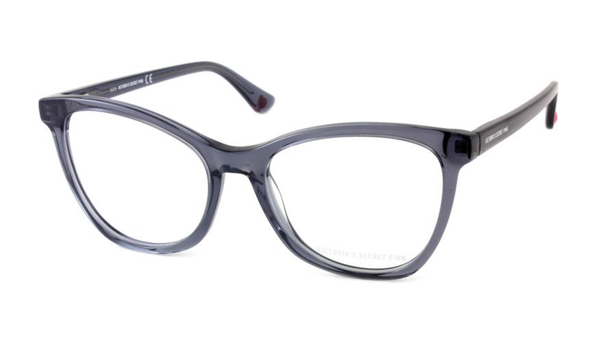 Leesbril Victoria's Secret Pink PK5007/V 001 transparant grijs zwart