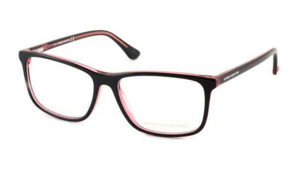 Leesbril Victoria's Secret Pink PK5009/V 005 zwart roze transparant