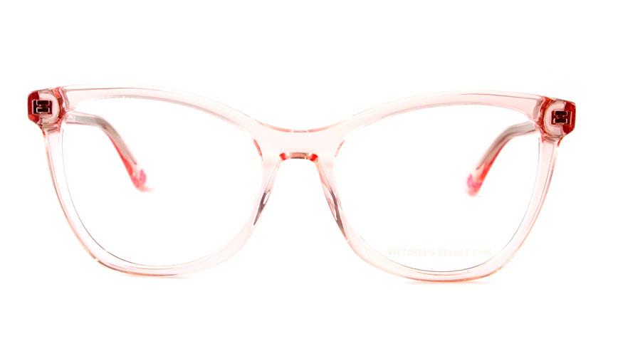 Leesbril Victoria's Secret Pink VS5007/V 074 transparant roze