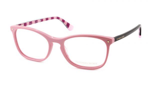 Leesbril Victoria's Secret VS5007/V 072 roze zwart roze/rood streep