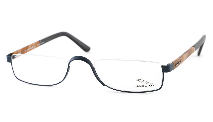 Leesbril look-over Jaguar 33095 1111 blauw/havanna