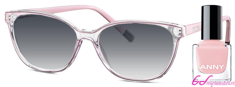 Leeszonnebril Anny eyewear french kiss zacht roze + gratis nagellak 963002-515