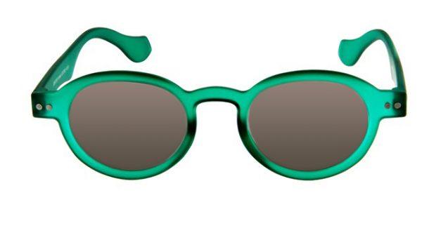Leeszonnebril INY Doktor Sun G12100 groen/transparant