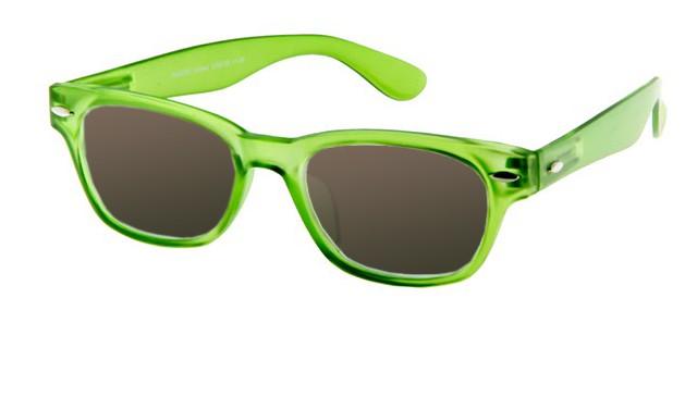Leeszonnebril INY Woody Sun G38700 groen/transparant
