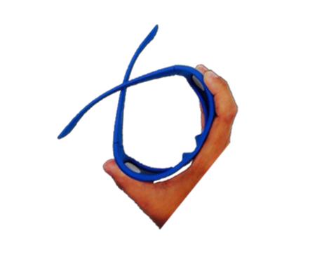 Leeszonnebril Polaroid PLD6015 blauw