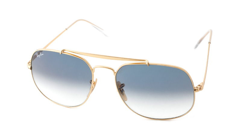 Leeszonnebril Ray-Ban The General RB3561 001 3F 57