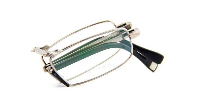 Opvouwbare leesbril St. Dupont 8030OU C3 zilver
