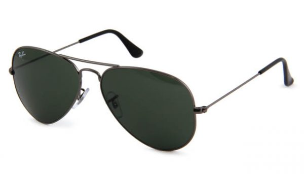 Zonneleesbril Ray-Ban Aviator RB3025-W0879-58 gun