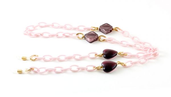 Frank and Lucie brilketting roze