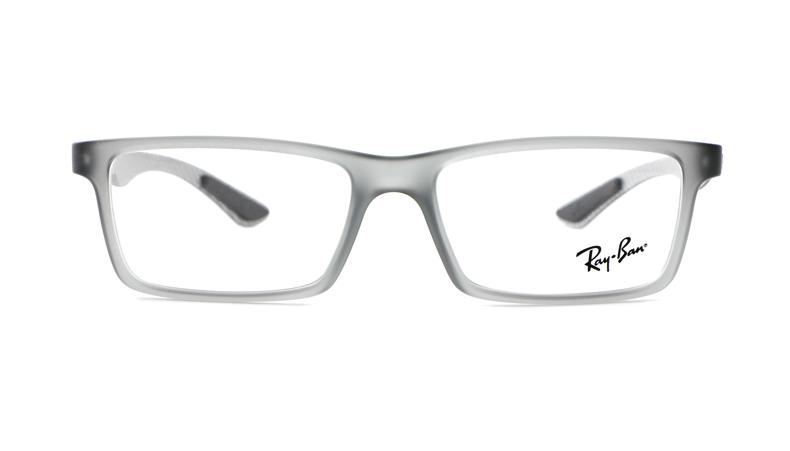 Leesbril Ray-Ban 0RX-8901 5244 53 demi gloss grey