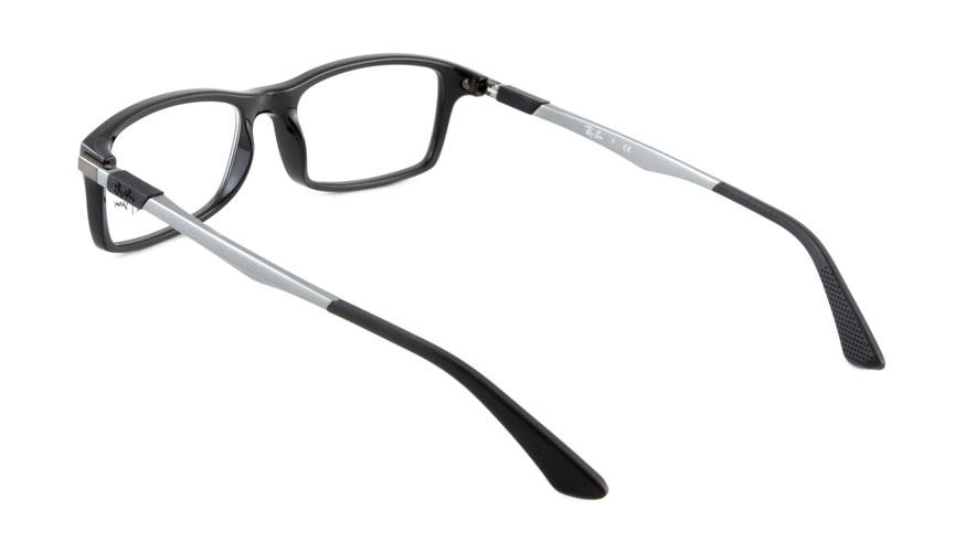 Leesbril Ray-Ban 0RX7017-2000-54 zwart/gun