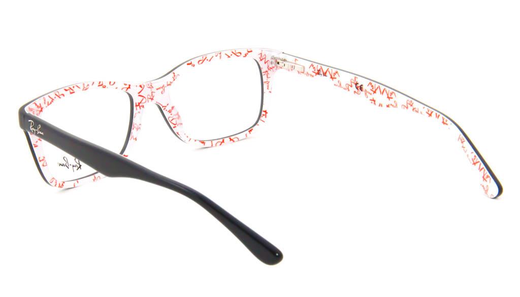 Leesbril Ray-Ban RB5228-5014-53 zwart/wit
