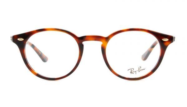 Leesbril Ray-Ban RX2180v-5675-47 licht havanna