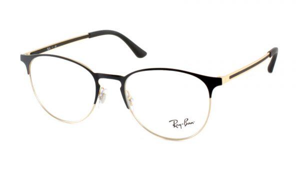 Leesbril Ray-Ban RX6375 2890 51 zwart/goud