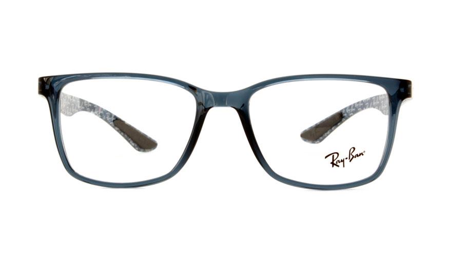 Leesbril Ray-Ban RX8905-5844-53 transparant blauw