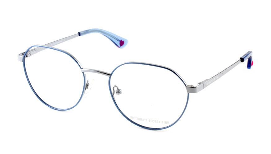 Leesbril Victoria's Secret Pink PK5002/V 090 blauw zilver