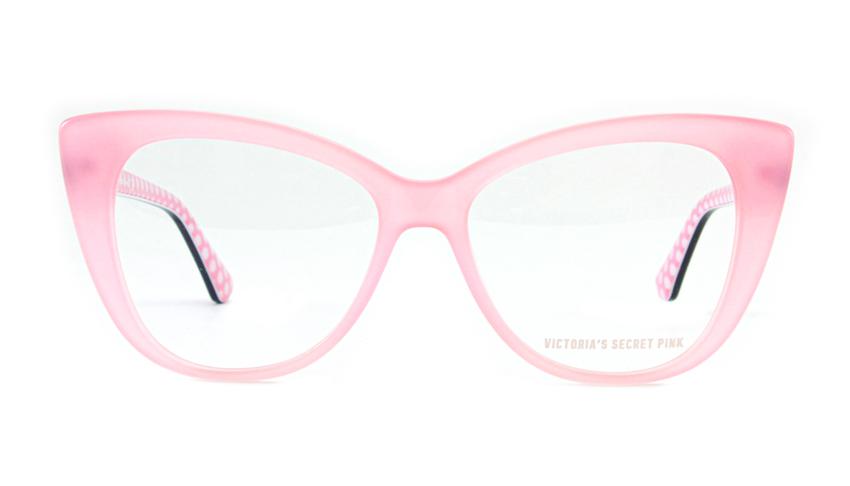 Leesbril Victoria's Secret Pink PK5005/V 072 roze zwart
