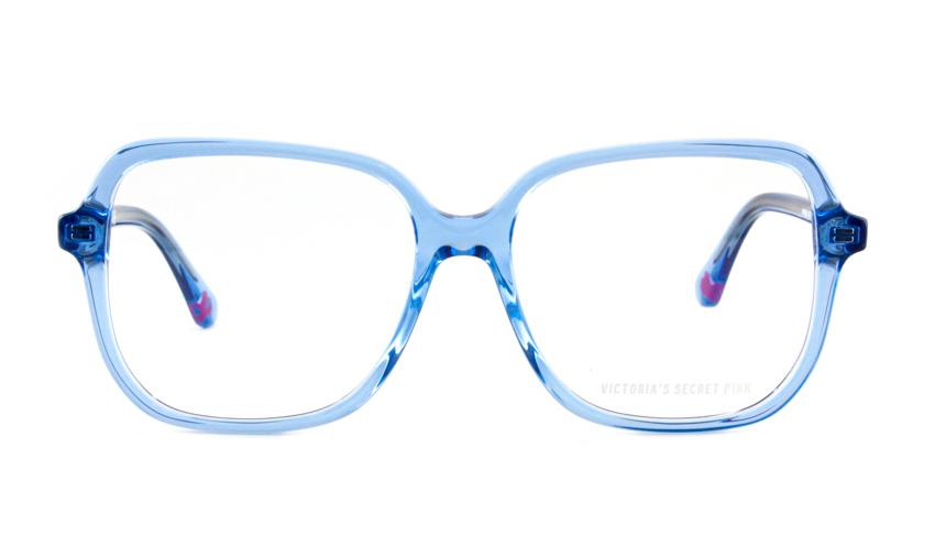 Leesbril Victoria's Secret Pink PK5008/V 090 transparant blauw