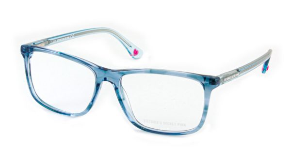 Leesbril Victoria's Secret Pink PK5009/V 056 blauw grijs transparant