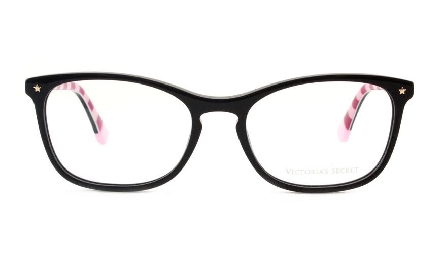 Leesbril Victoria's Secret VS5007/V 001 zwart roze streep