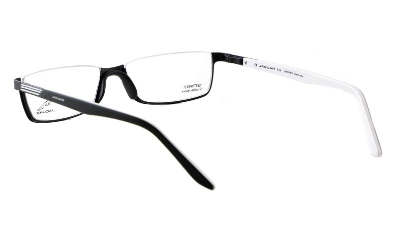 Leesbril look-over Jaguar 6100 zwart/wit