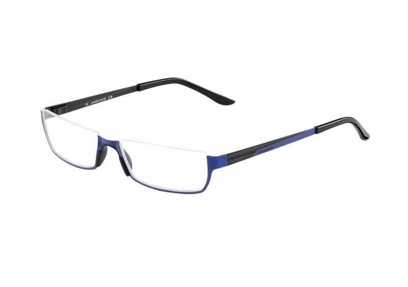 Leesbril look-over Jaguar 914 blauw/zwart