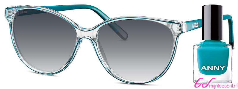Leeszonnebril Anny eyewear addicted to shoes groen + gratis nagellak 963003-705