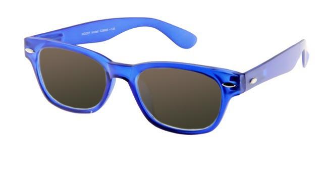 Leeszonnebril INY Woody Sun G38800 blauw/transparant