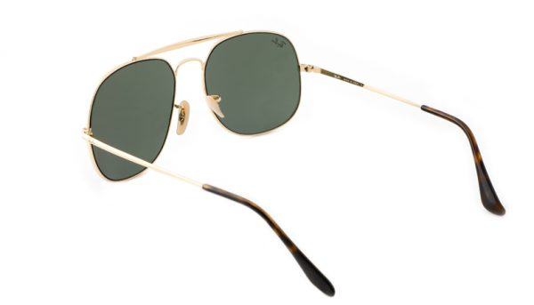 Leeszonnebril Ray-Ban The General RB3561 001 57 goud